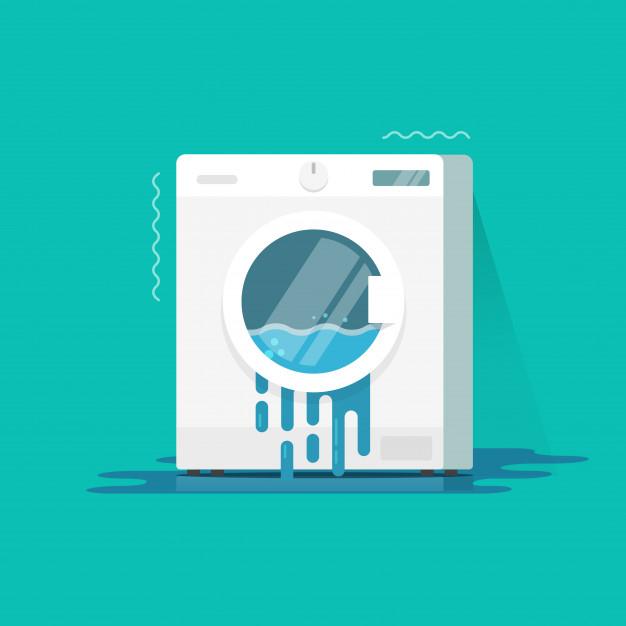 mengatasi mesin cuci terguncang
