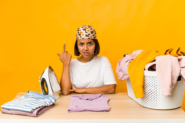 kesalahan saat menerima order laundry