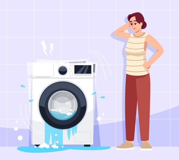 masalah mesin cuci